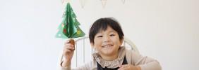 佐藤蕗の手づくりおもちゃ教室/05 「くるくるツリー」